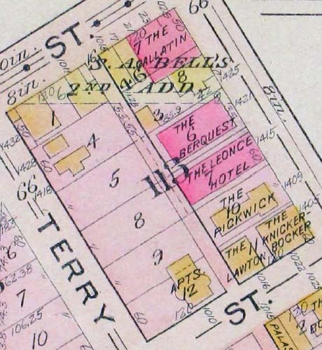 Block 113 - Baist 1912 Map