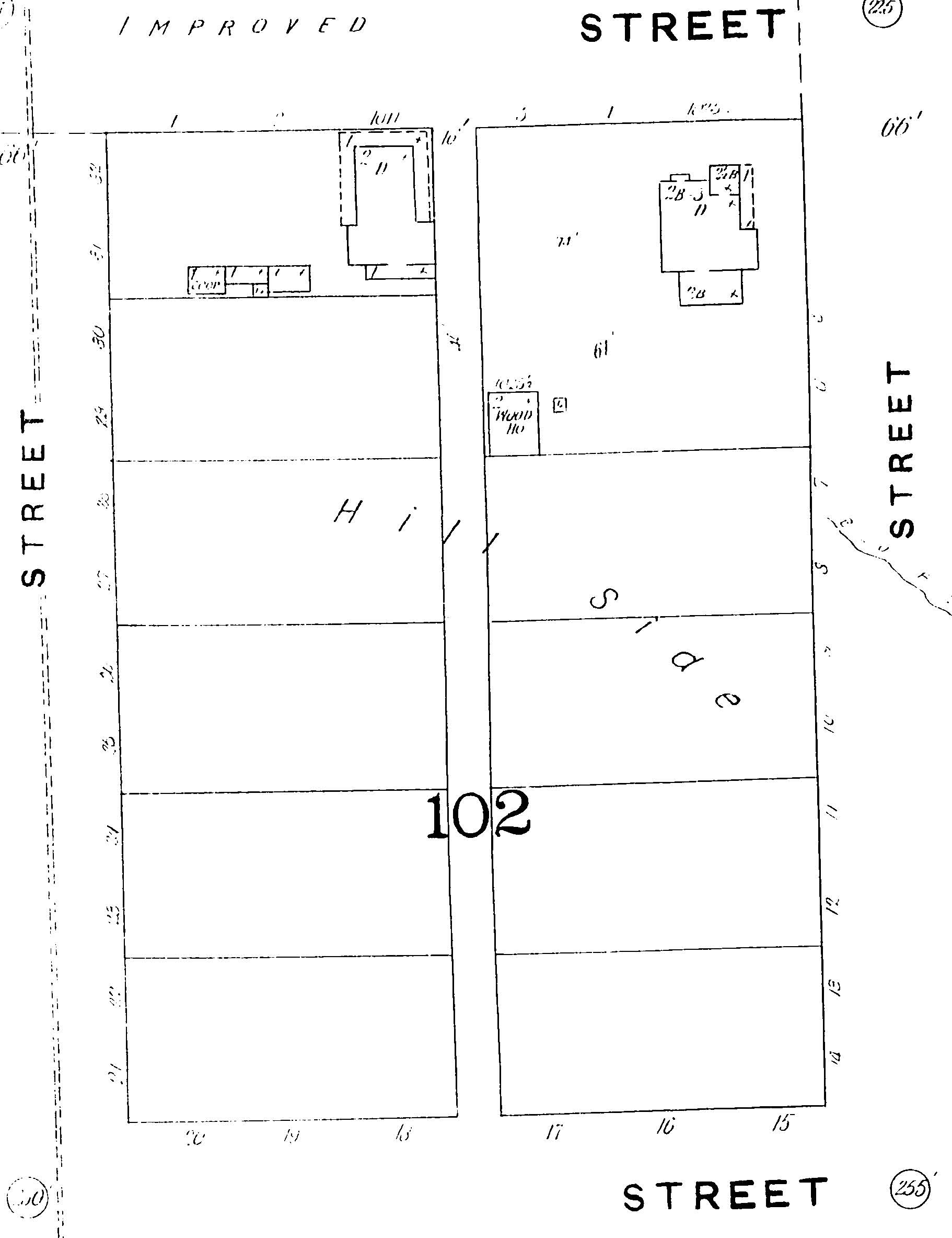 Sanborn Map - 1893 - Block102